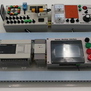 Mitsubishi FX3U Analog Stepper PLC Trainer – PLC-Trainer